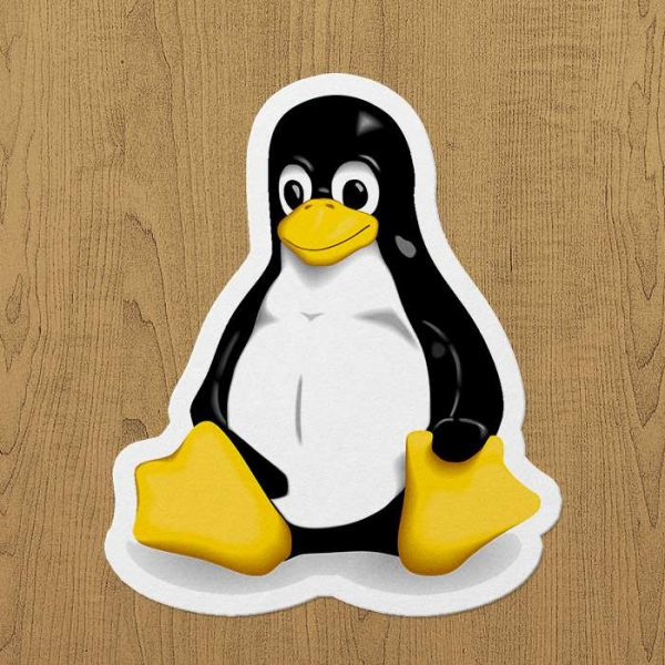 Linux Sticker Laptop