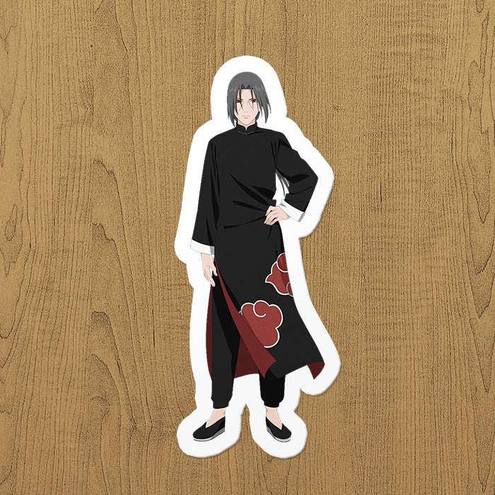 itachi anime sticker