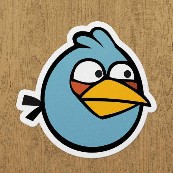 Gamer Sticker Angry birds