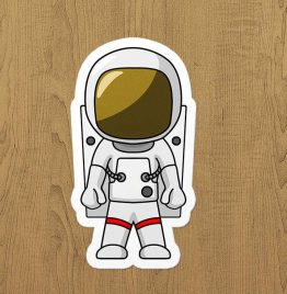 Astronot sticker