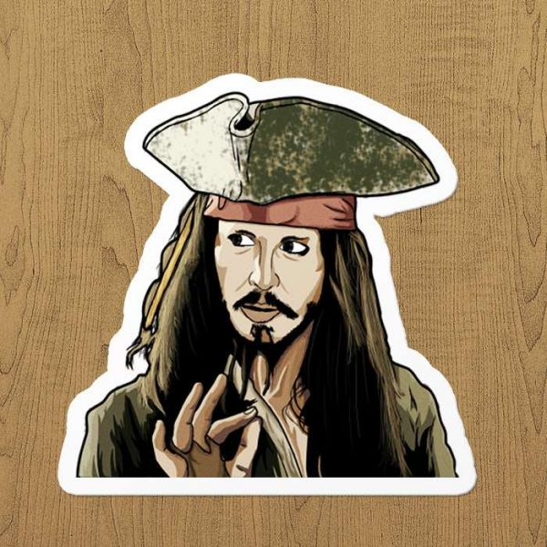 Jack Sparrow Sticker
