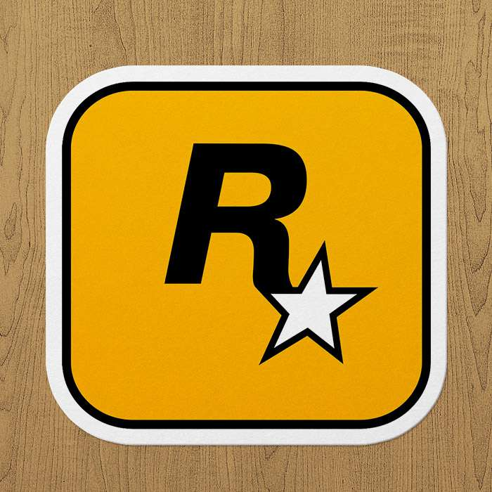rockstar games sticker
