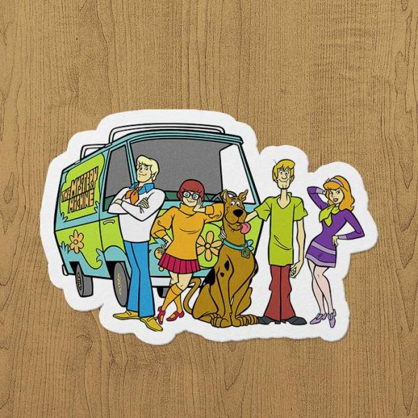 Scooby do sticker