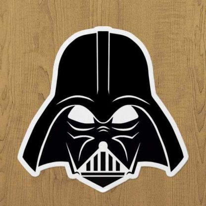 darth vader sticker etiket