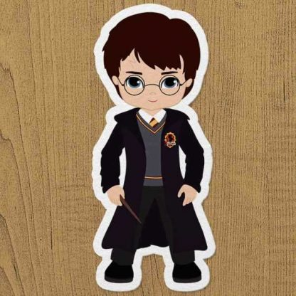 harry potter sticker etiket