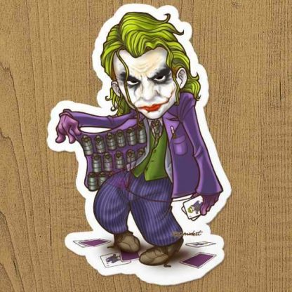 Joker Sticker Etiket