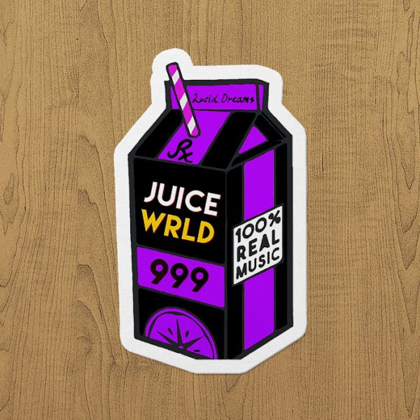 Juice WRLD 999 Sticker etiket