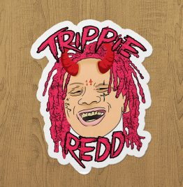 trippie redd sticker etiket