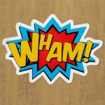 Wham Sticker etiket