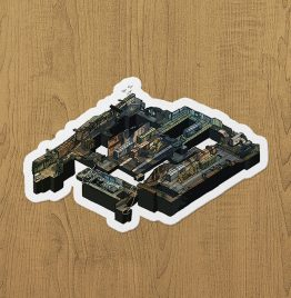 CSGO Train Sticker etiket