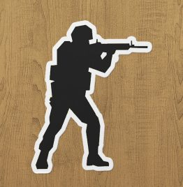 CSGO CT Sticker Etiket