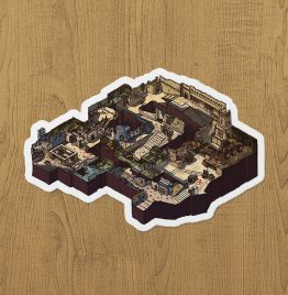 CSGO Mirage Sticker etiket