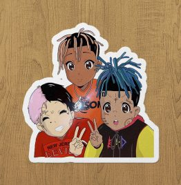 Juice,X and Peep Sticker etiket
