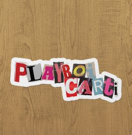 Playboi Carti Sticker etiket
