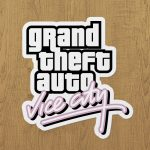 gta vice city sticker etiket