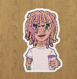 lil pump sticker etiket