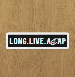 Long Lİve Asap Sticker etiket