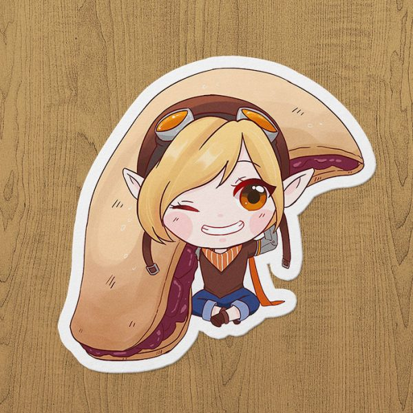 mobile legends lolita sticker etiket