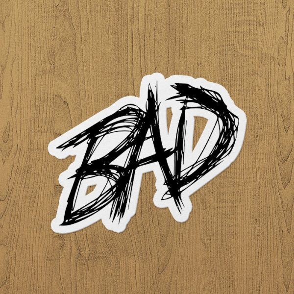 xxxtentacion bad sticker etiket