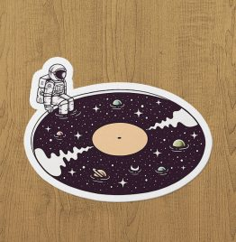Cosmic Sound Sticker etiket