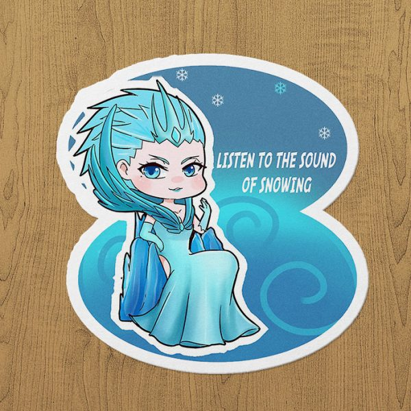 Mobile Legends Aurora Sticker etiket