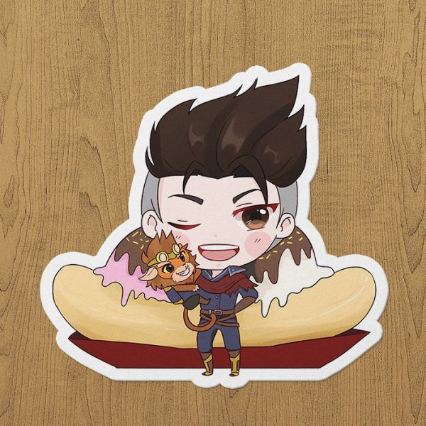 Mobile Legends Claude Sticker etiket