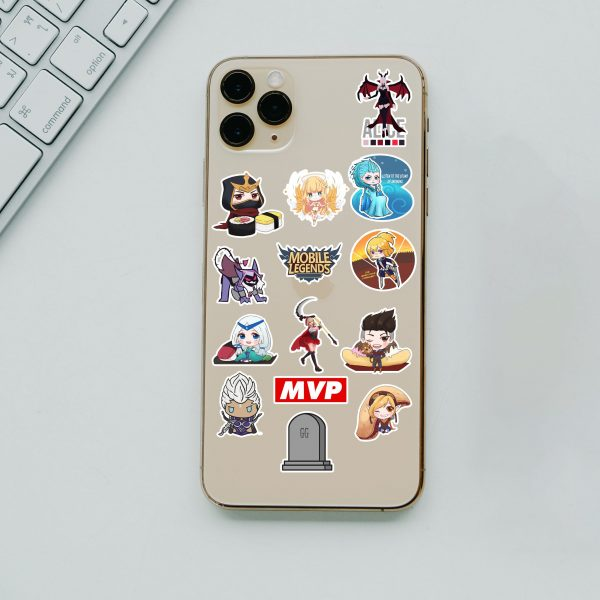 14'Lü Mini Mobile Legends Telefon Sticker