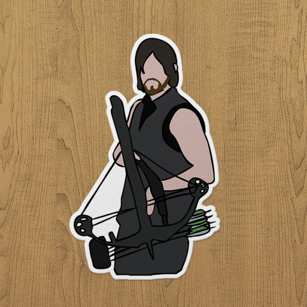 Darly Dixon Sticker Etiket