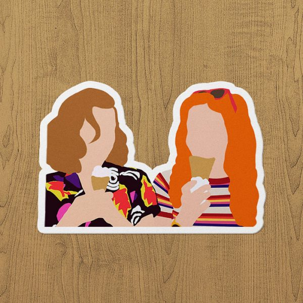 Max and Eleven Sticker etiket