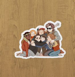 Stranger Things Big Hub Sticker etiket
