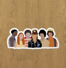 Stranger Things S3 Sticker etiket