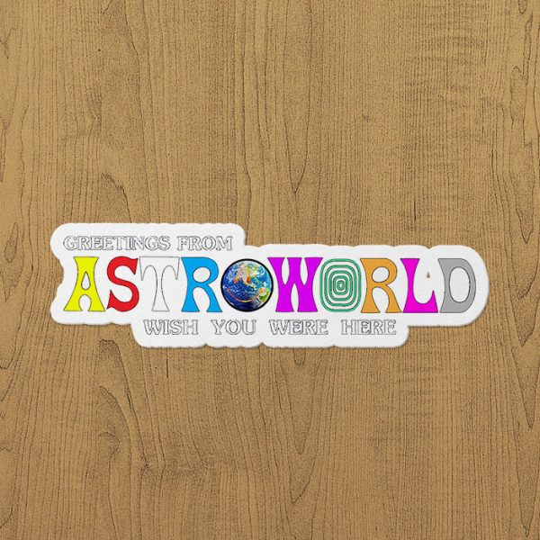 Astroworld Sticker etiket