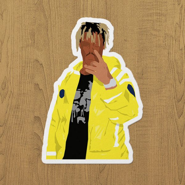 Juice Wrld Art Sticker etiket