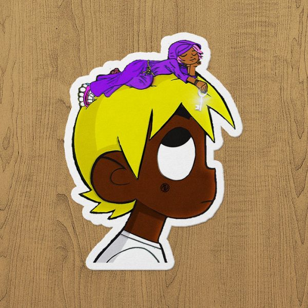 Lil Uzi Vert vs. The World Sticker etiket