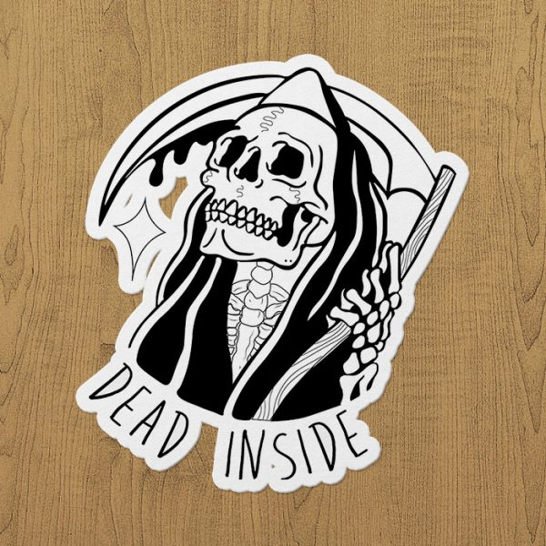 Dead İnside Sticker etiket