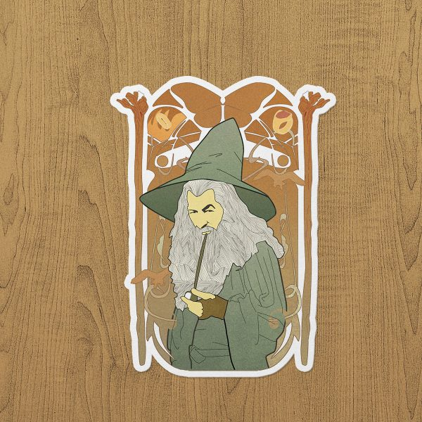 Gandalf Sticker etiket
