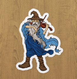 Kemancı Gandalf Sticker etiket