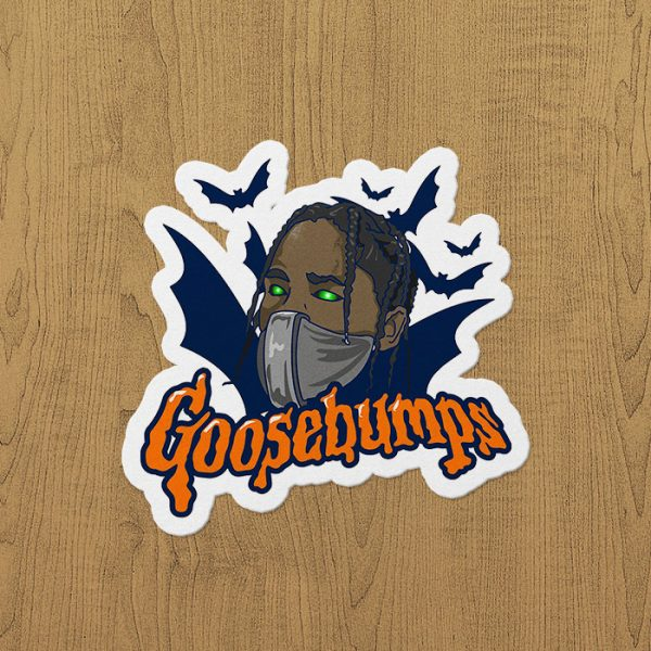 GooseBumbs Sticker etiket