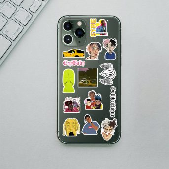 14'Lü Mini Rap Telefon Sticker seti 3
