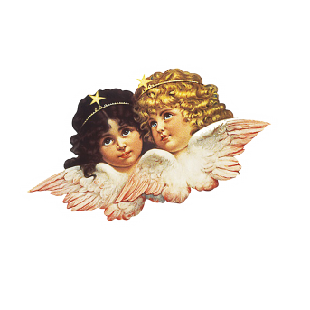 angels sticker etiket