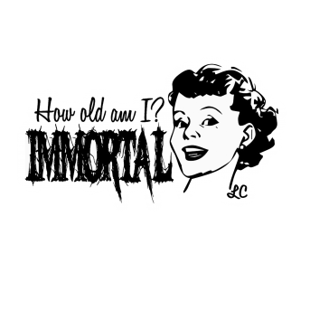 Immortal Sticker etiket