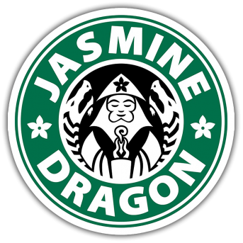 Jasmine Dragon Sticker