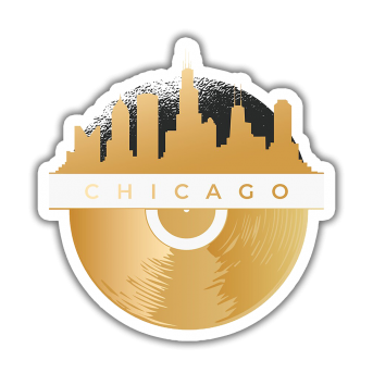 Chicago Sticker etiket çıkartma